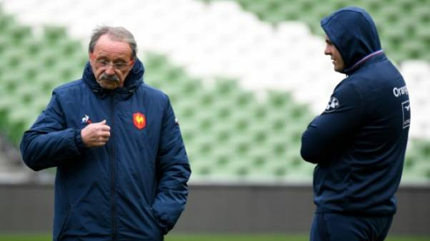 "XV de France: ""On fera le bilan la semaine prochaine"" dit Brunel"