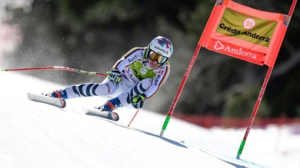 Ski alpin: Rebensburg remporte le super-G des finales à Soldeu