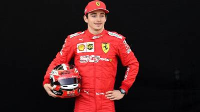 F1:Leclerc, non vedo l'ora di cominciare