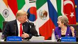 Trump eyes 'large scale' trade deal with UK