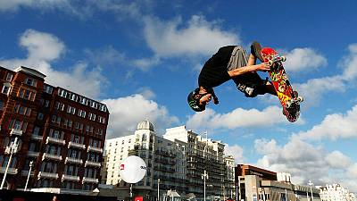 Skateboarding: Tiny Sky Brown hopes to become Britain's youngest Olympian