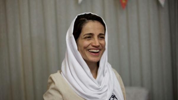 L'avocate iranienne Nasrin Sotoudeh, le 18 septembre 2013 à Téhéran