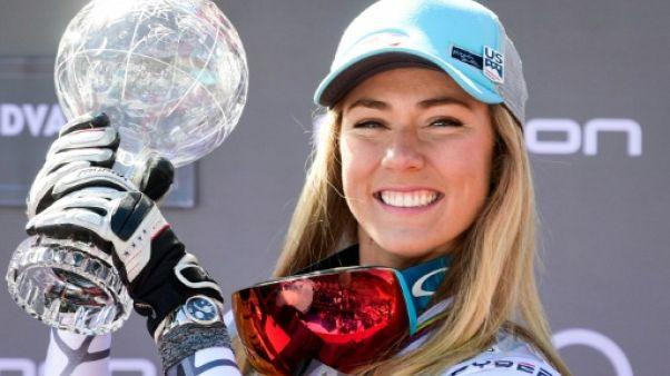 Ski alpin: Mikaela Shiffrin engrange les globes