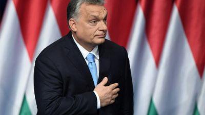 Le Premier ministre hongrois Viktor Orban, le 10 février 2019 à Budapest