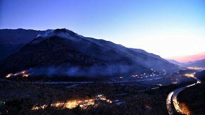 Tempeste vento, allarme incendi Piemonte