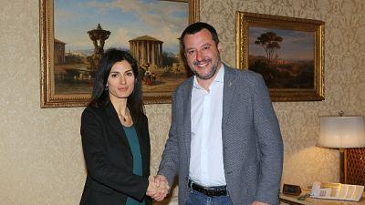 Salvini-Raggi, Uefa ripaghi danni ultras