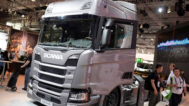 Volkswagen's Scania sees China rebound, braces for Brexit hit to UK orders