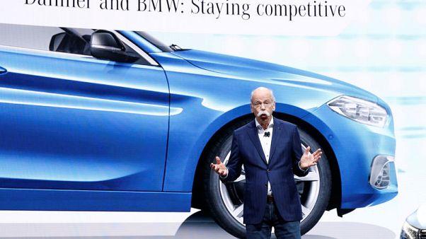 BMW and Daimler seek 7 billion euros savings from shared platforms - reports