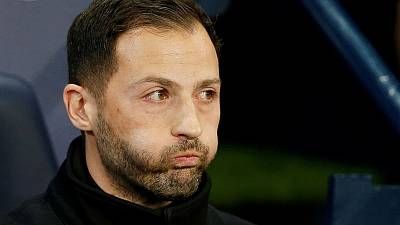 Schalke sack coach Tedesco after Man City mauling