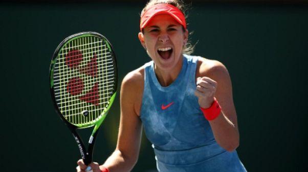 Tennis: Bencic dompte Pliskova et va en demi-finales à Indian Wells