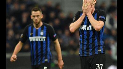 Europa League:Inter ko in casa,eliminata
