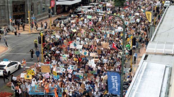 """La """"grève de l'école pour le climat"""" commence en Nouvelle-Zélande"""