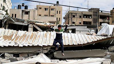 Israeli warplanes strike Gaza after rockets fired towards Tel Aviv