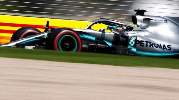 Hamilton tops timesheets in first free practice
