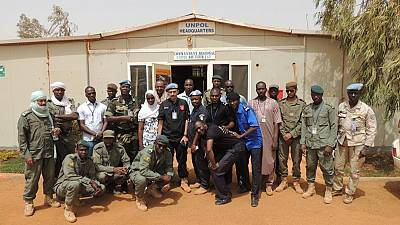 Renforcement de l'autorité de l'Etat : à Gao, la MINUSMA soutient les Forces de défense et de sécurité dans la lutte contre la drogue