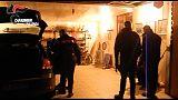 Blitz Cc in campi nomadi, 40 arresti