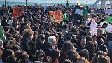 Sciopero clima:migliaia in corteo a Bari