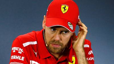 Vettel says lacking confidence after wobbly practice