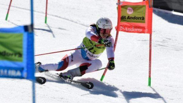 Ski alpin: la Suisse remporte le team event des finales