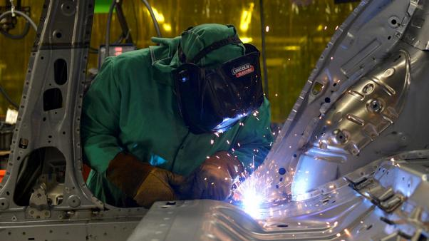 U.S. manufacturing sector slowing as economy loses momentum