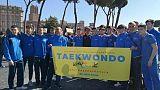 Sciopero clima: anche azzurri taekwondo