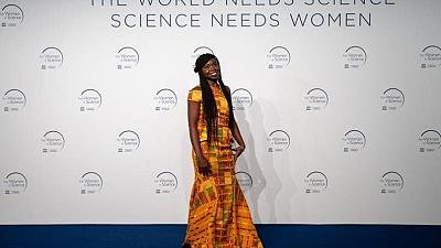 Ghanaian female scientist receives international award for research