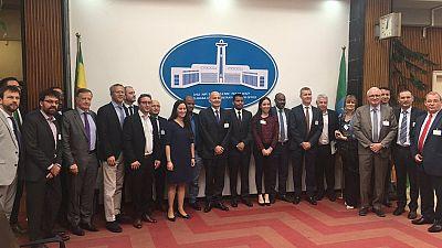 Visite d'une délégation du MEDEF International en Éthiopie