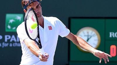 Federer wins quarter-final at Indian Wells, on track to meet Nadal