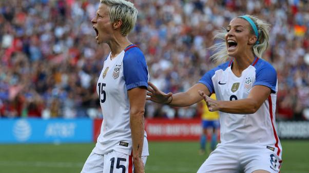 Soccer - U.S. federation defends support for women's team after lawsuit