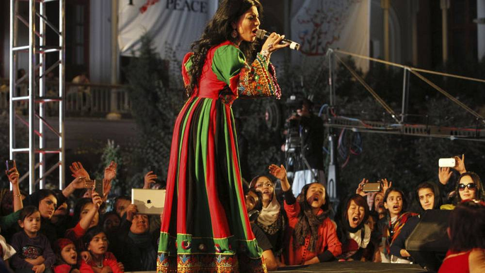 Defying threats, Afghan singer Aryana comes home for women | Euronews