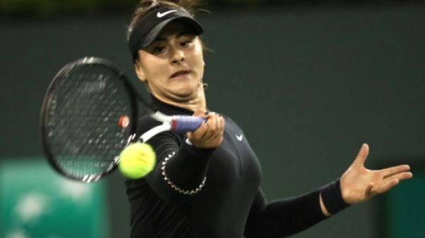 Tennis: Andreescu en finale à Indian Wells