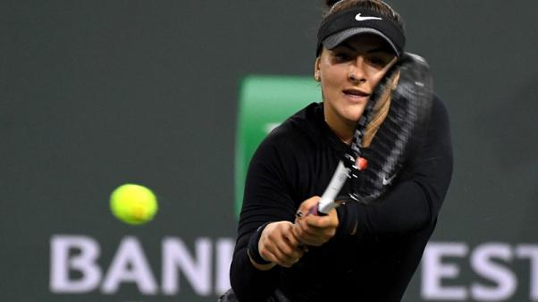 Andreescu continues fairytale run to reach Indian Wells final
