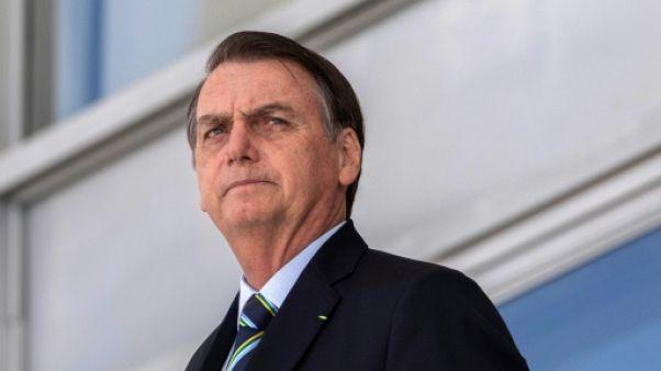 Le président brésilien Jair Bolsonaro, le 12 mars 2019 à Brasilia