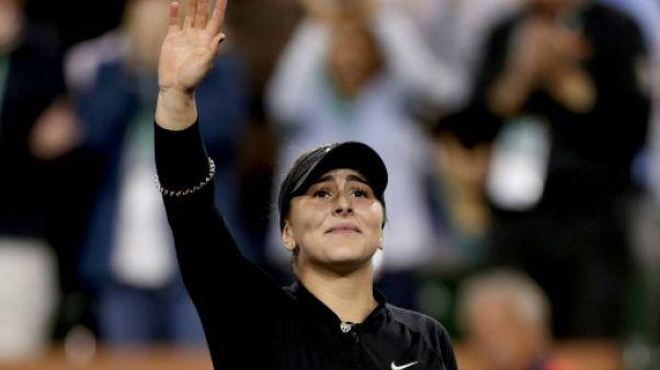 Indian Wells: Andreescu a déjà tout d'une grande