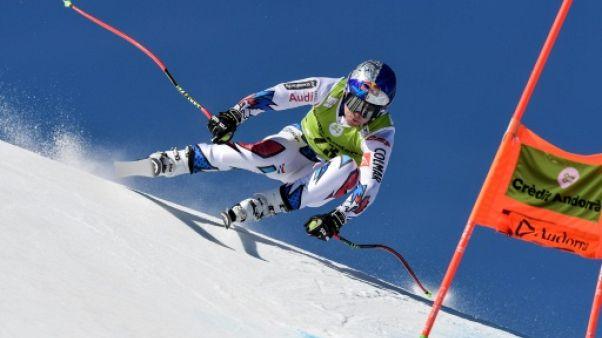 Ski alpin: Pinturault écrase la 1re manche du géant de Soldeu, Fanara sorti