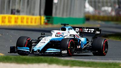 Russell still smiling despite Williams bringing up the rear