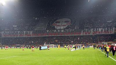 Milan-Inter: incasso record per serie A