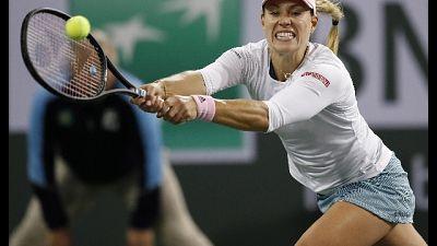 Indina Wells, finale Andreescu-Kerber