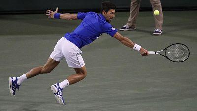 Indian Wells, Djokovic-Fognini fuori