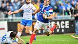 Six nations: le XV de France mène à la mi-temps en Italie (10-6)