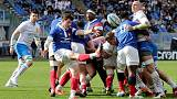 Rugby - Wasteful Italy lose out to clinical France