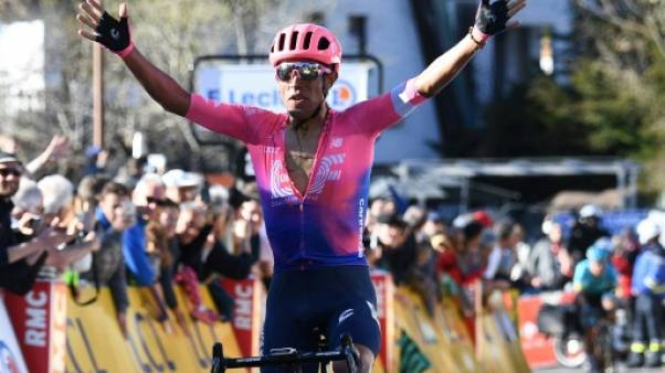 Paris-Nice: Martinez vainqueur au Turini, Bernal leader
