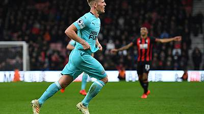 Last-gasp Ritchie strike as Newcastle draw at Bournemouth