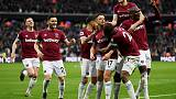 West Ham leave it late to see off spirited Huddersfield