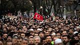 Christchurch : funérailles symboliques à Istanbul en hommage aux victimes