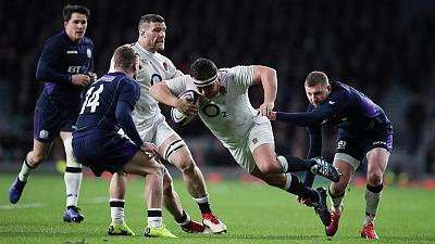 England and Scotland draw 38-all in extraordinary Six Nations finale