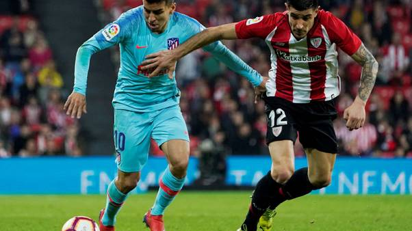 Atletico title hopes hit by limp defeat at Bilbao