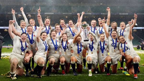 Breach stars as England women crush Scots to win Grand Slam