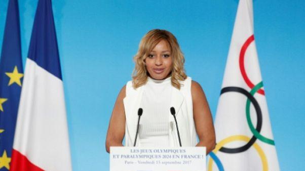 Estelle Yoka Mossely, à Paris, le 15 septembre 2017