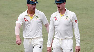 Smith, Warner meet with Australia team as bans near end